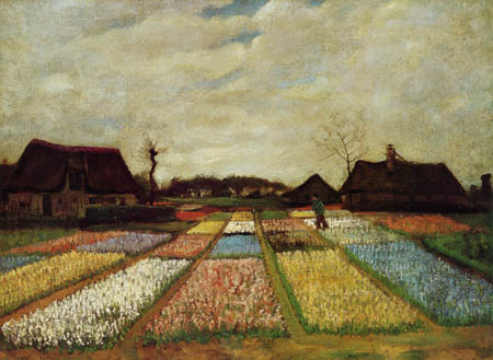 Vincent van Gogh - Tulip fields