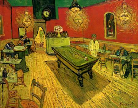 Vincent van Gogh - Das Nachtcafe, Billardzimmer