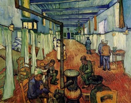 Vincent van Gogh - Dortoir à l'hôpital