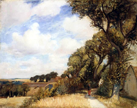 William Crampton Gore - On the Ramparts, Montreuil sur Mer, A sunny morning