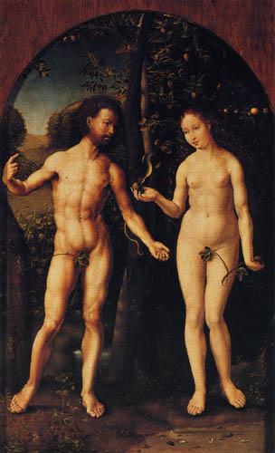 Jan Gossaert - Adam and Eve