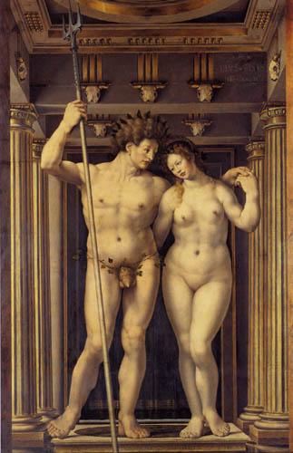 Jan Gossaert - Neptun und Amphitrite
