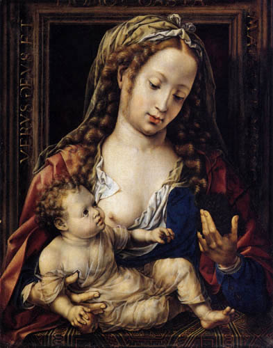 Jan Gossaert - Maria with child