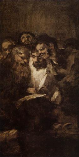 Francisco J. Goya y Lucientes - La lectura
