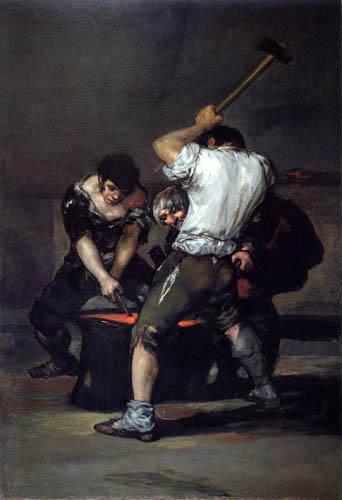Francisco J. Goya y Lucientes - El forjador