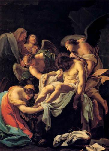 Francisco J. Goya y Lucientes - Entierro de Cristo