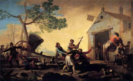 Francisco J. Goya y Lucientes - Kampf am New Inn