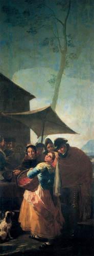 Francisco J. Goya y Lucientes - Auf dem Marktplatz