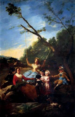 Francisco J. Goya y Lucientes - The Swing