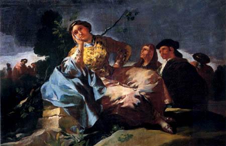 Francisco J. Goya y Lucientes - La Cita