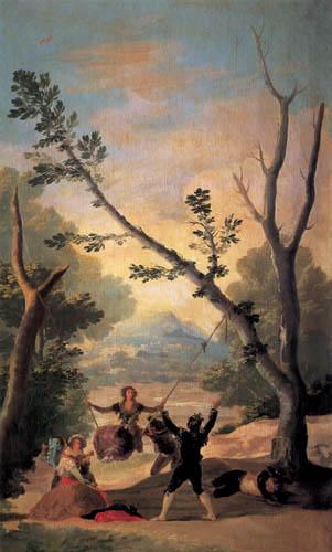 Francisco J. Goya y Lucientes - El Columpio