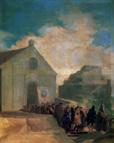 Francisco J. Goya y Lucientes - Village procession