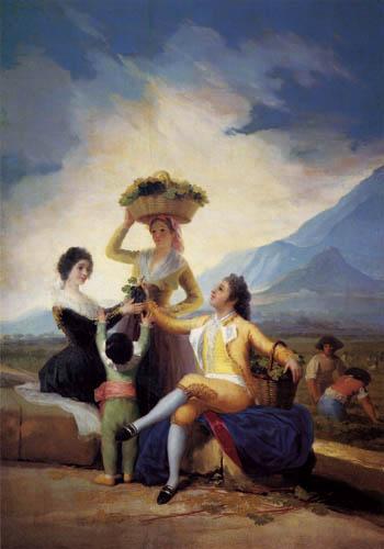Francisco J. Goya y Lucientes - The Autumn