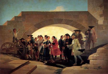 Francisco J. Goya y Lucientes - The Wedding
