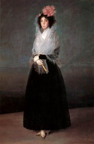Francisco J. Goya y Lucientes - Marquesa de la Solana