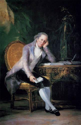 Francisco J. Goya y Lucientes - Caspar Melchior de Jovellanos