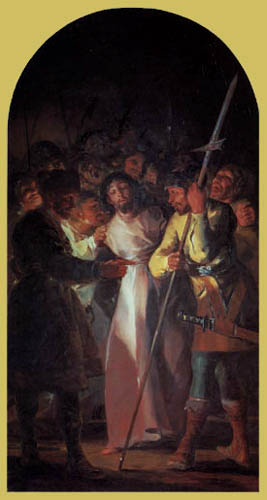 Francisco J. Goya y Lucientes - The capture of Christ