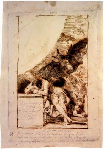 Francisco J. Goya y Lucientes - Träumerei
