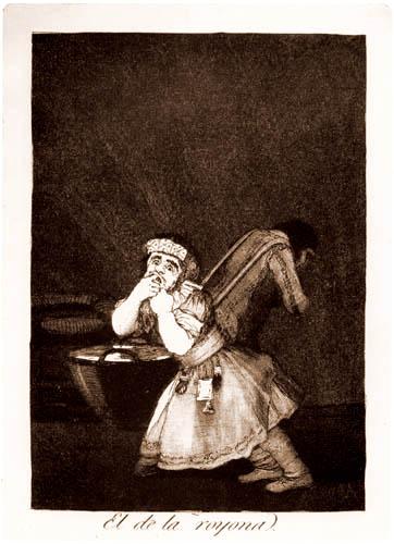 Francisco J. Goya y Lucientes - El de la royona.