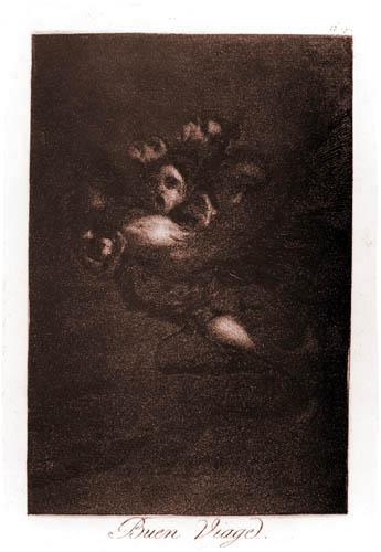 Francisco J. Goya y Lucientes - Gute Reise!
