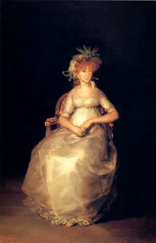 Francisco J. Goya y Lucientes - La condesa de Chinchon