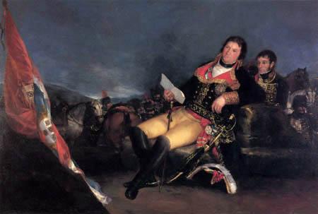 Francisco J. Goya y Lucientes - El comandante en la guerra