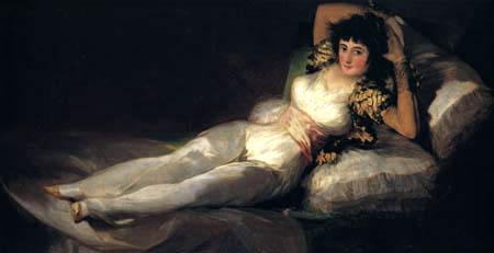 Francisco J. Goya y Lucientes - La Maja vestida