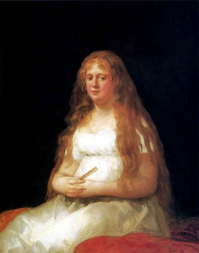 Francisco J. Goya y Lucientes - Josefa Castilla Portugal de Garcini y Wanabrok