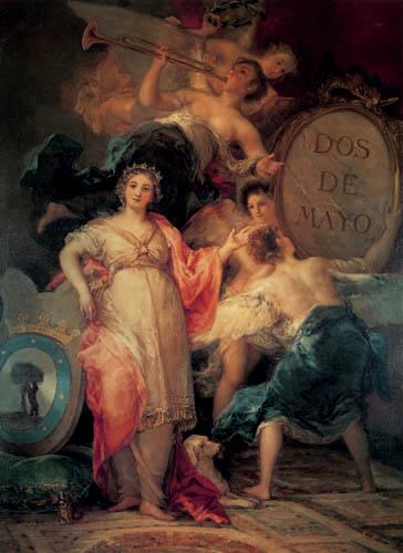 Francisco J. Goya y Lucientes - Alegoría sobre Madrid