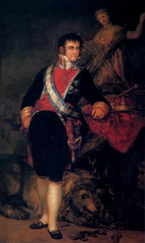 Francisco J. Goya y Lucientes - Retrato de Ferdinand VII.