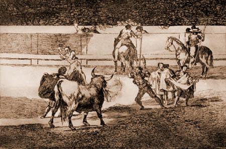 Francisco J. Goya y Lucientes - Banderillas de Fuego