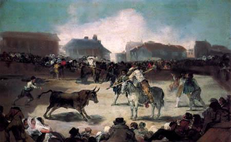 Francisco J. Goya y Lucientes - The Bullfight