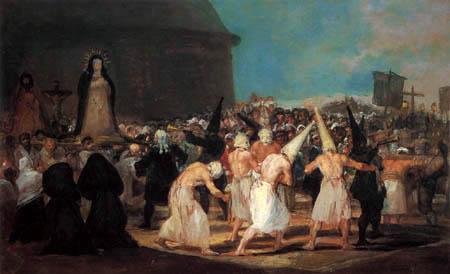 Francisco J. Goya y Lucientes - La procesión