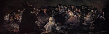 Francisco J. Goya y Lucientes - Aquelarre