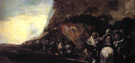 Francisco J. Goya y Lucientes - Promenade