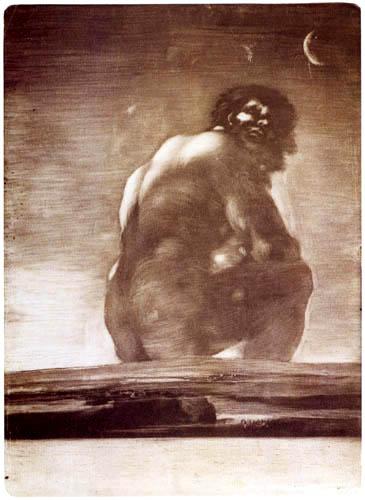 Francisco J. Goya y Lucientes - El Gigante