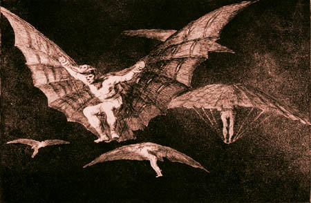 Francisco J. Goya y Lucientes - Modo de volar