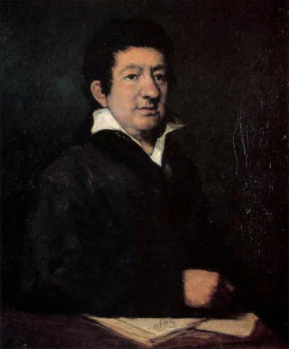Francisco J. Goya y Lucientes - Leandro Fernandez de Moratin