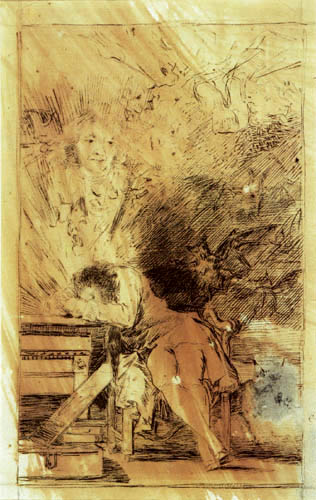 Francisco J. Goya y Lucientes - Nightmare