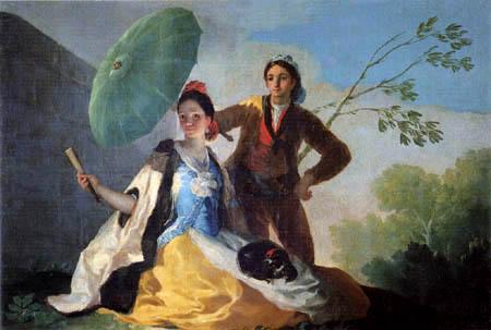 Francisco J. Goya y Lucientes - The Parasol