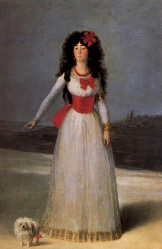 Francisco J. Goya y Lucientes - Die Herzogin von Alba