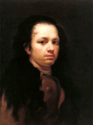 Francisco J. Goya y Lucientes - Selbstbildnis