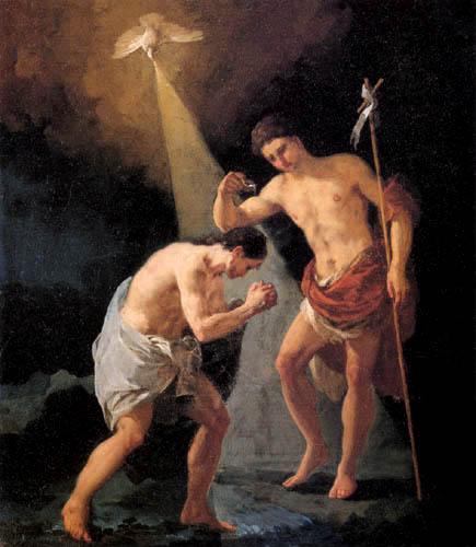 Francisco J. Goya y Lucientes - El Bautismo de Cristo
