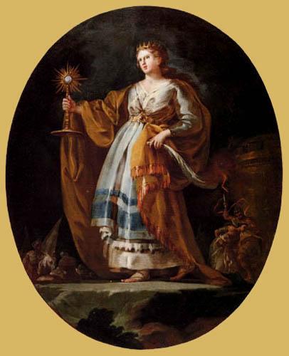 Francisco J. Goya y Lucientes - Die hl. Barbara