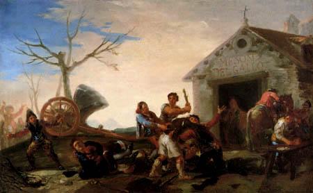 Francisco J. Goya y Lucientes - Meson del Gallo