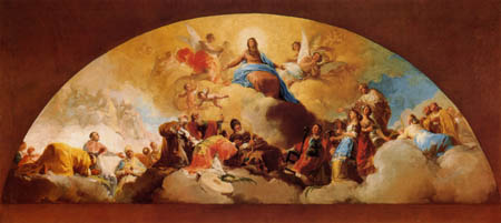 Francisco J. Goya y Lucientes - The Virgin