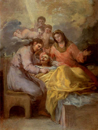Francisco J. Goya y Lucientes - Der Tod des Joseph
