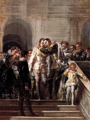 Francisco J. Goya y Lucientes - San Francisco de Borja