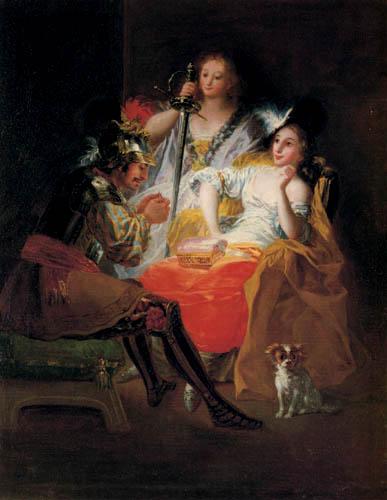 Francisco J. Goya y Lucientes - Hercules und Omphale