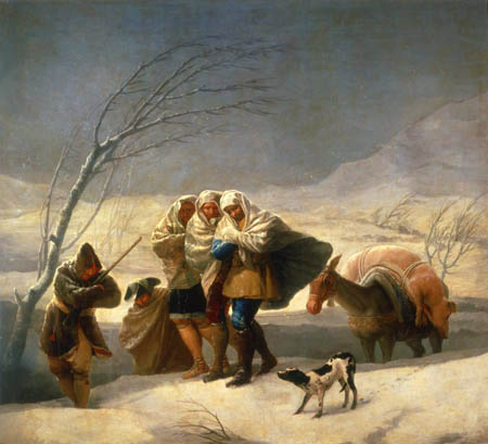 Francisco J. Goya y Lucientes - Der Winter